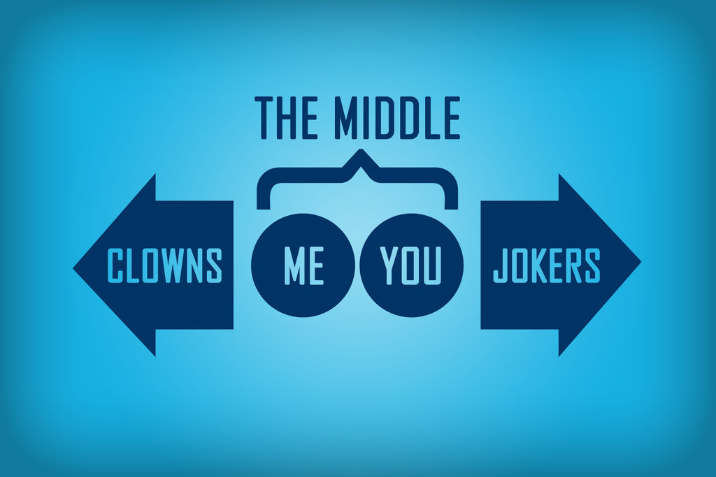 Clowns to the Left, Jokers to the Right: What to Do When You're Stuck in the Middle of Your Novel