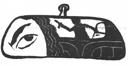 Unforeseen Misfortune; Illustration by John Overmyer